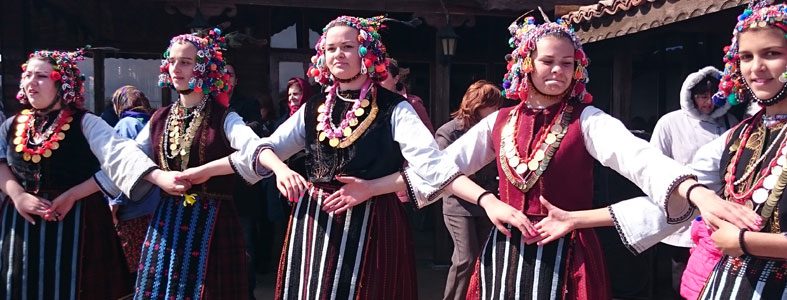Bulgarian folklore dance