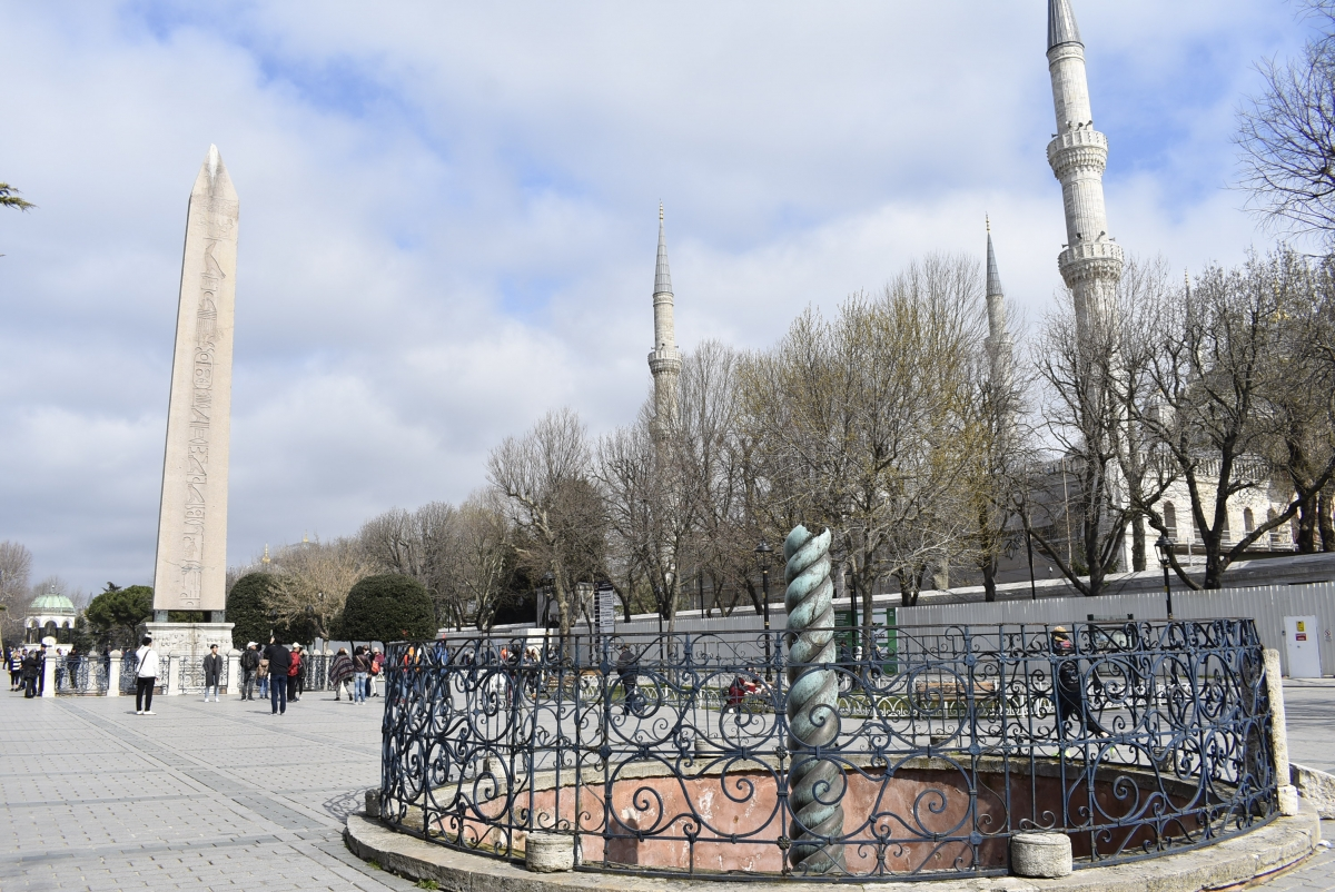 Istanbul, Sultan Ahmed Square