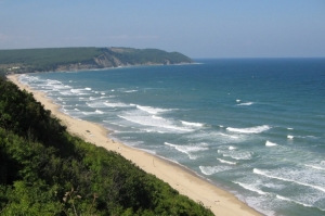 Emona cape and Irakli beach